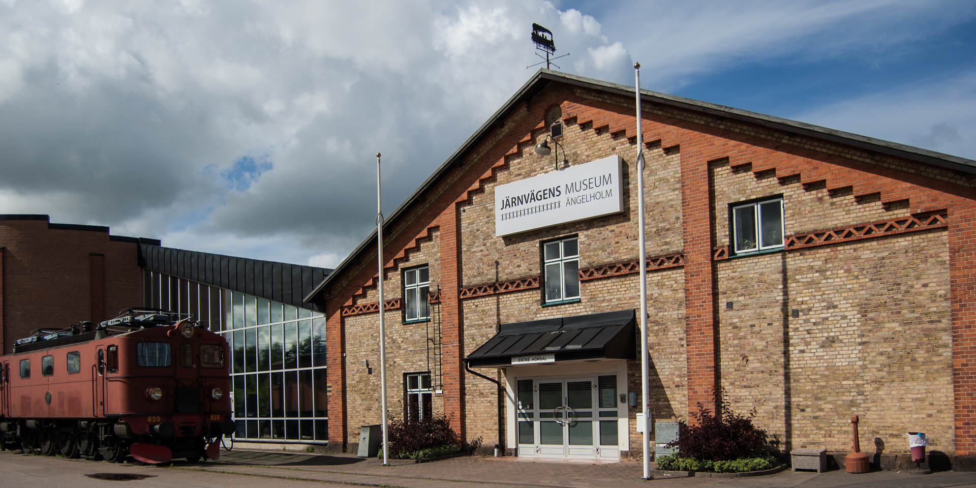 Järnvägens Museum Ängelholm 2015
