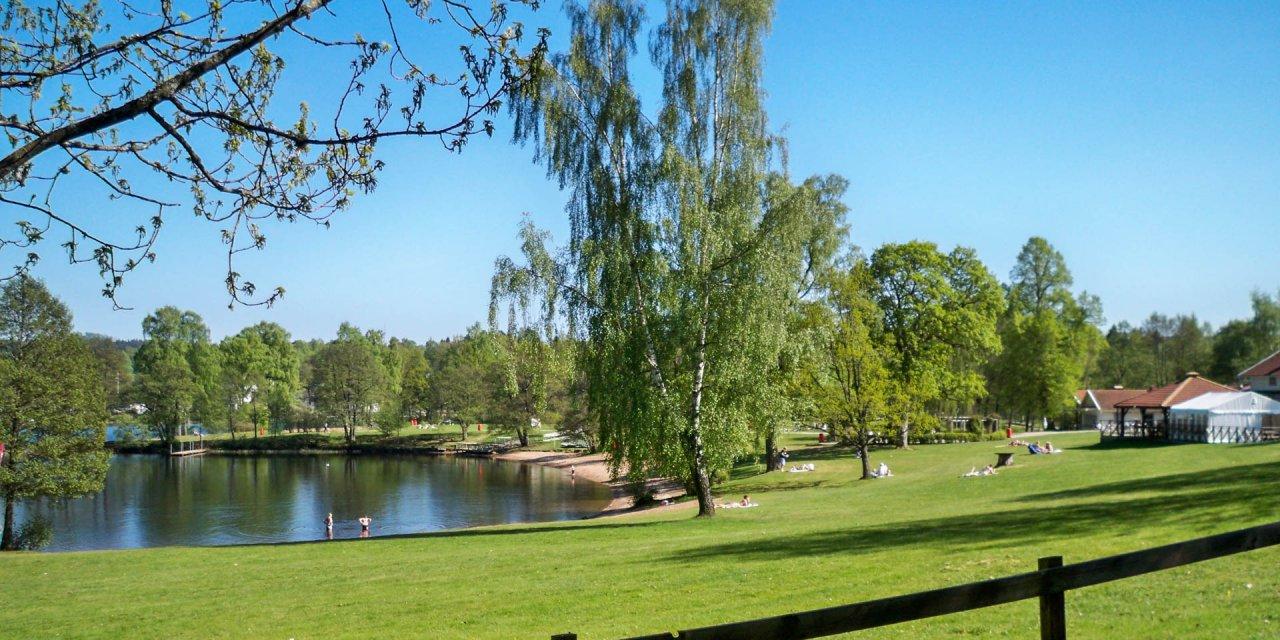 Almenäs Badplats 2011