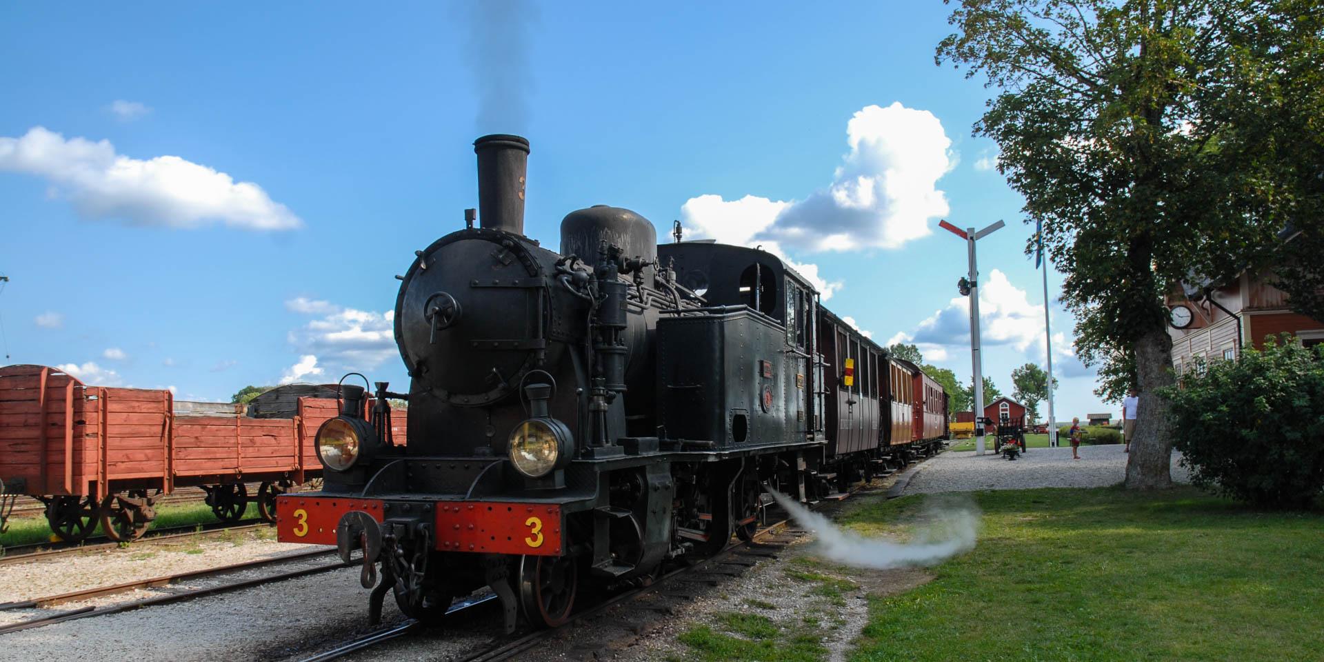 Hesselby Jernvägsmuseum 2014