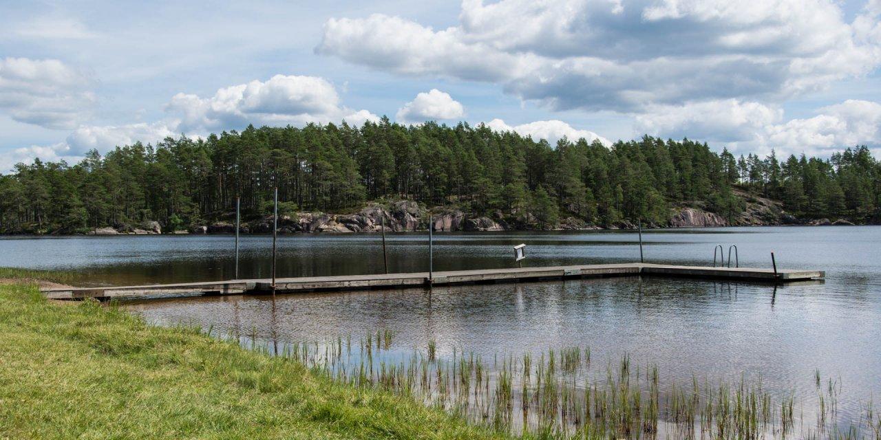 Stora Hammarsjöns Badplats 2017
