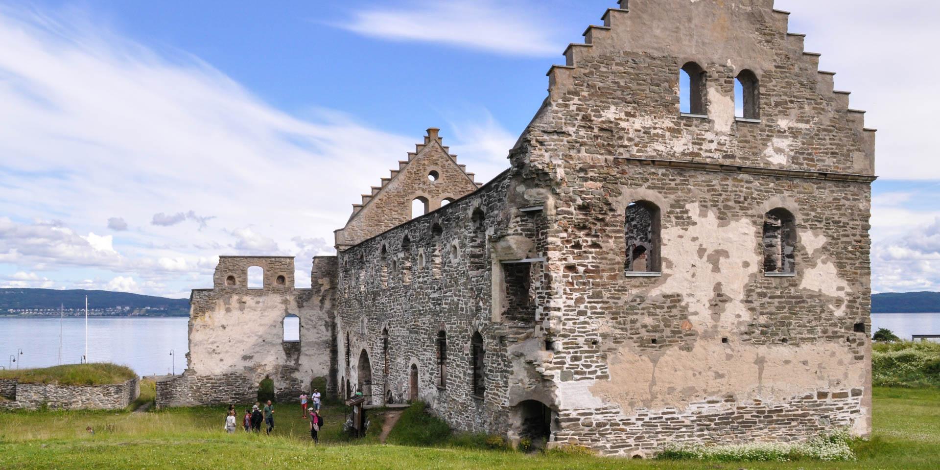 Visingsborgs Slottsruin 2015