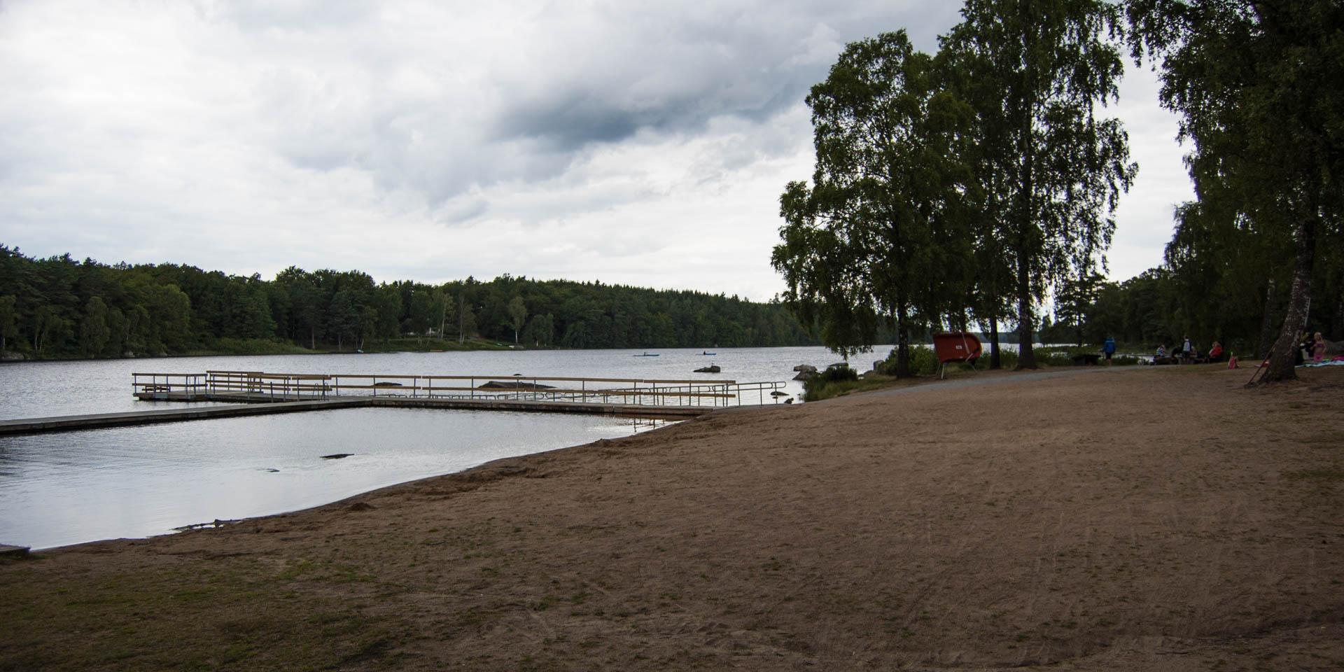 Långasjöns Badplats 2015