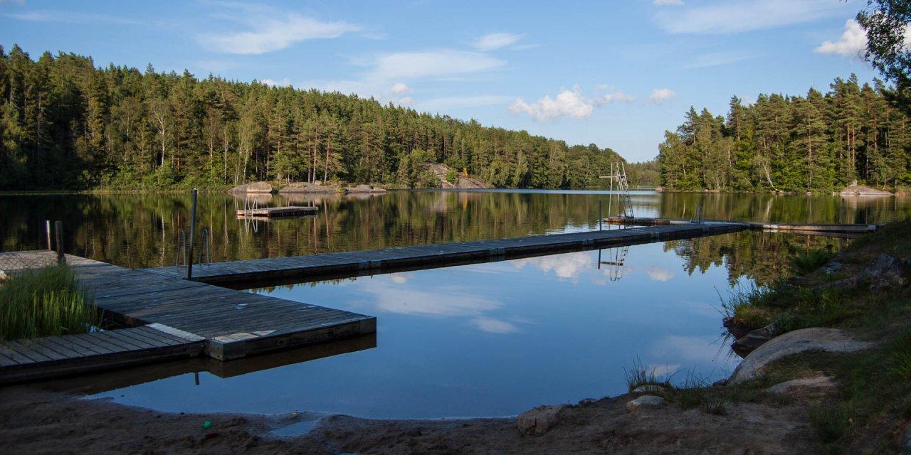 Lilla Öjasjöns Badplats 2015