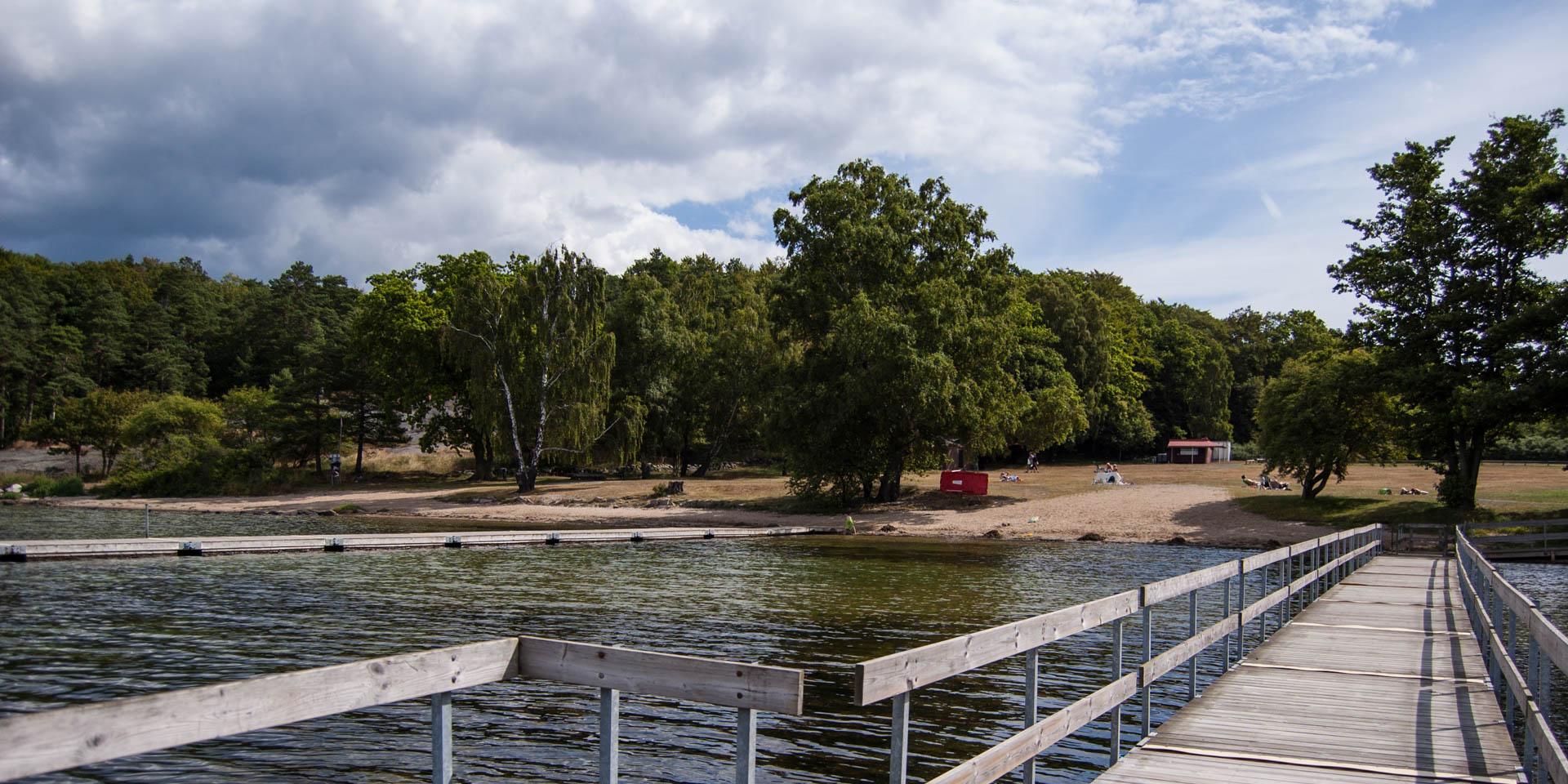 Stärnös Badplats 2015