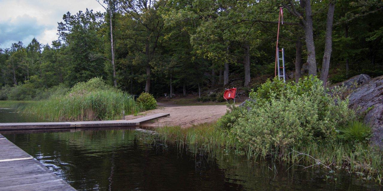 Svartasjöns Badplats 2015