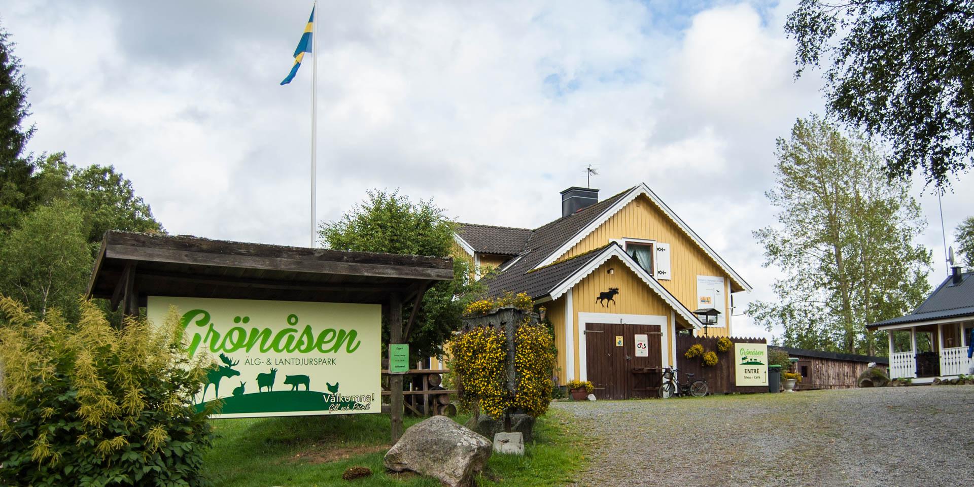 Grönåsen Älg- & Lantdjurspark 2015