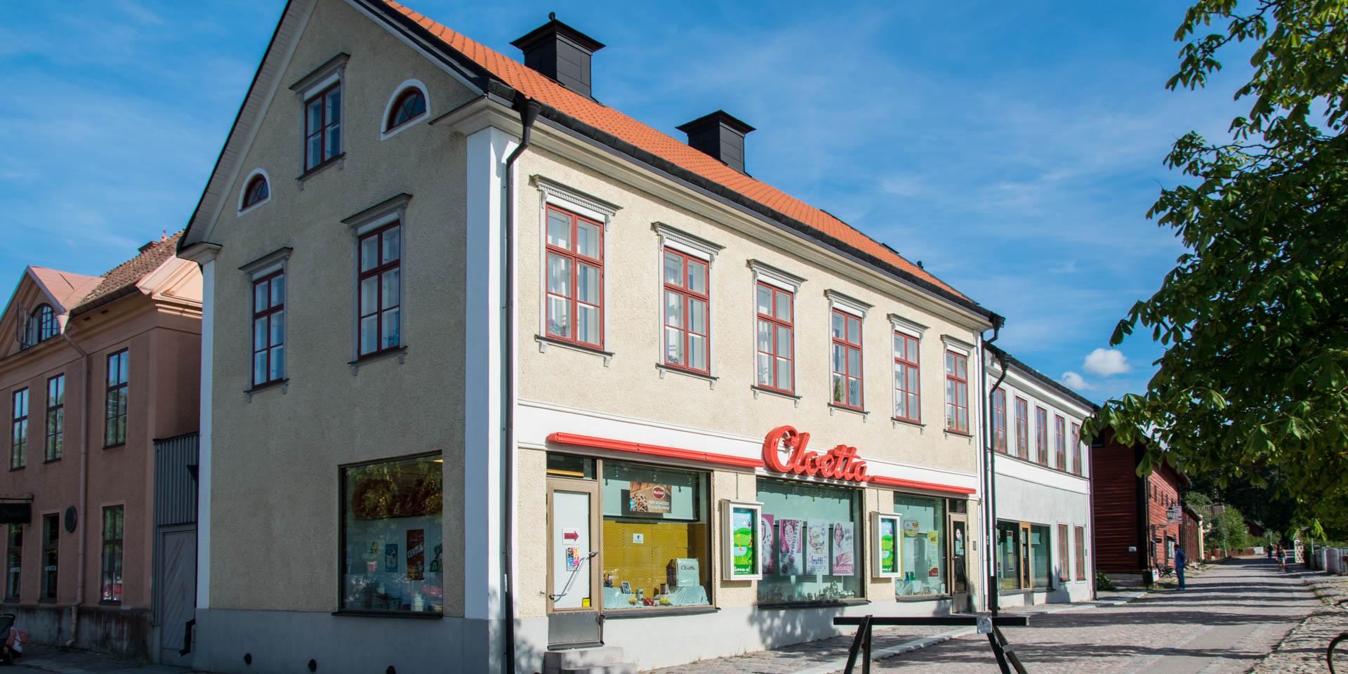 Cloettas Butik i Gamla Linköping 2018