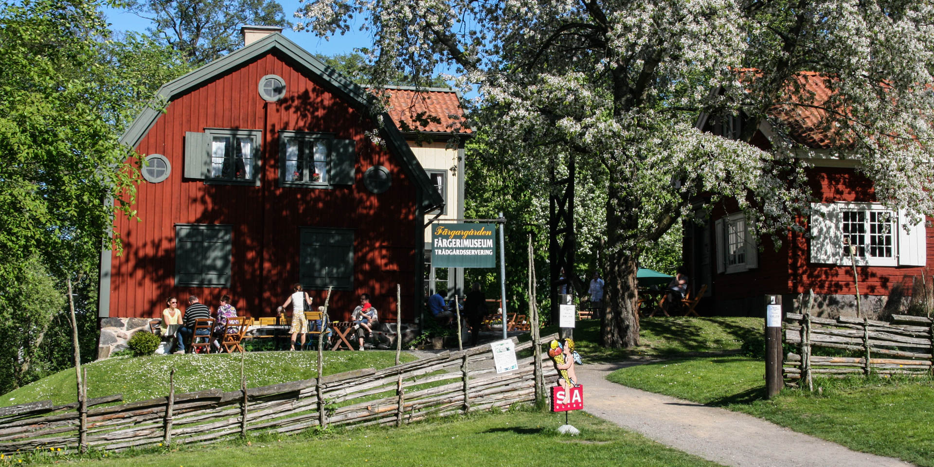 Färgargården Friluftsmuseum 2008