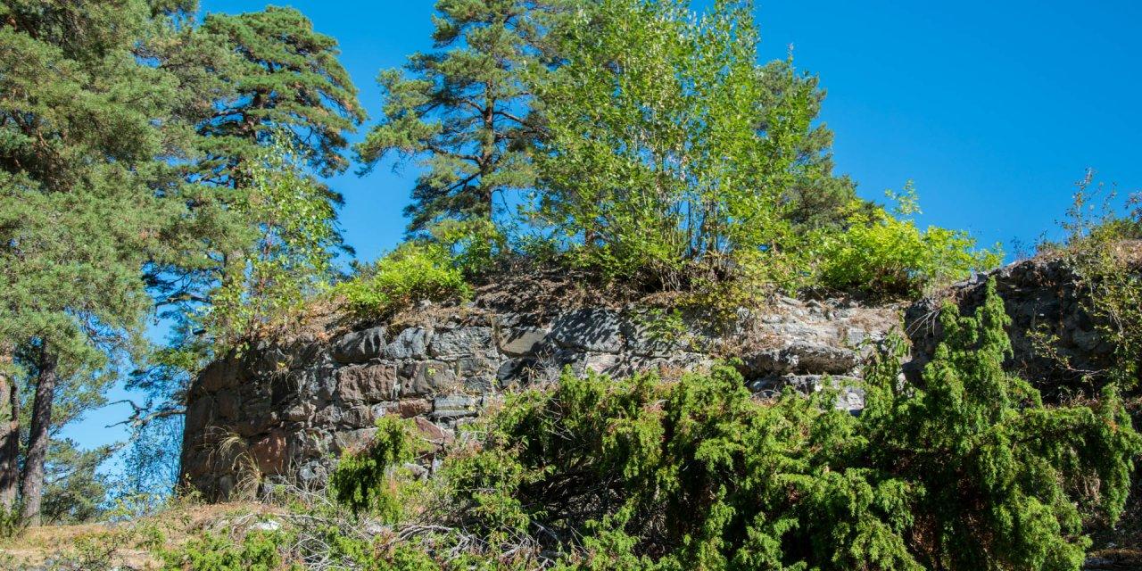 Stensö Borgruin 2018
