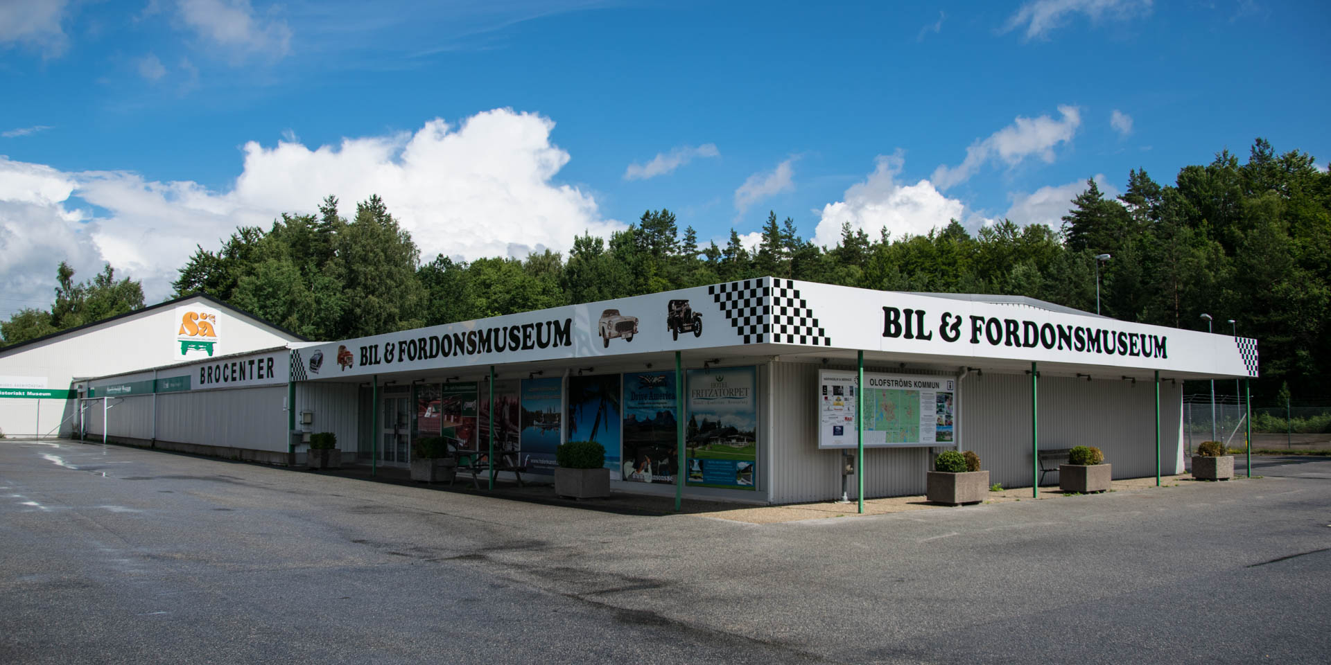 Brocenter Bil- & Fordonsmuseum 2016
