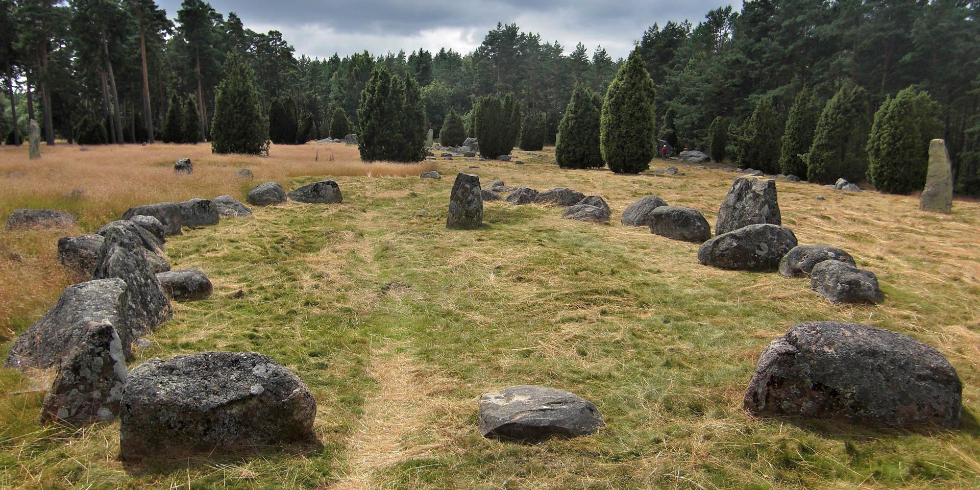Hjortsberga Gravfält 2009
