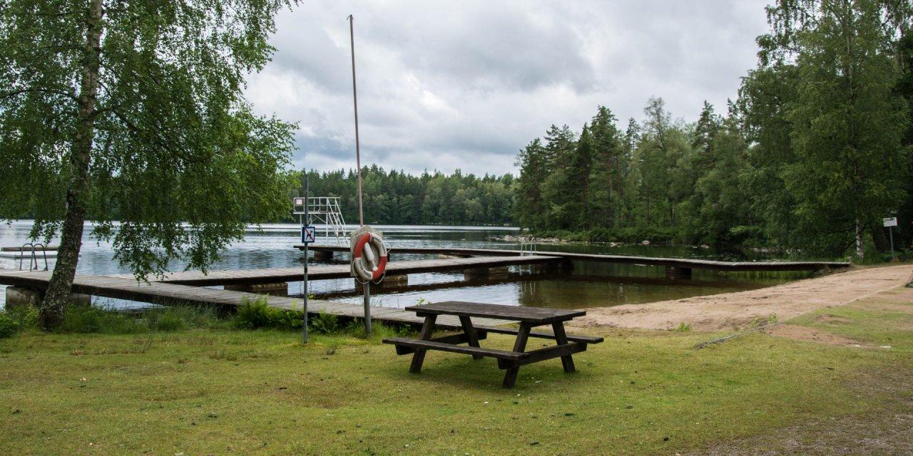 Lilla Galtsjöns Badplats 2017