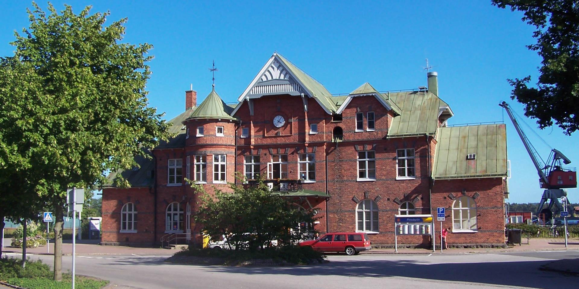 Sölvesborgs Järnvägsstation 2005