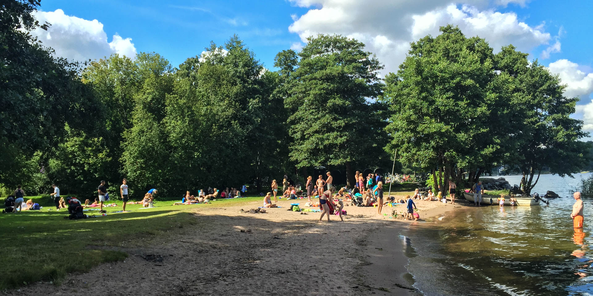 Ekhagens Strandbad 2015