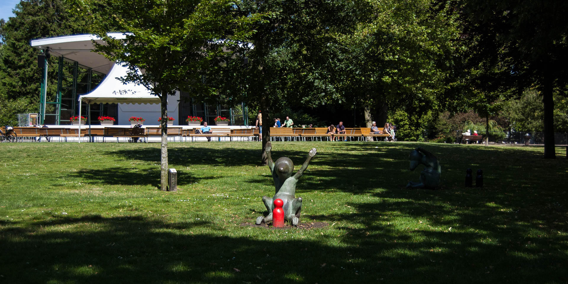 Stadsparken i Trelleborg 2015