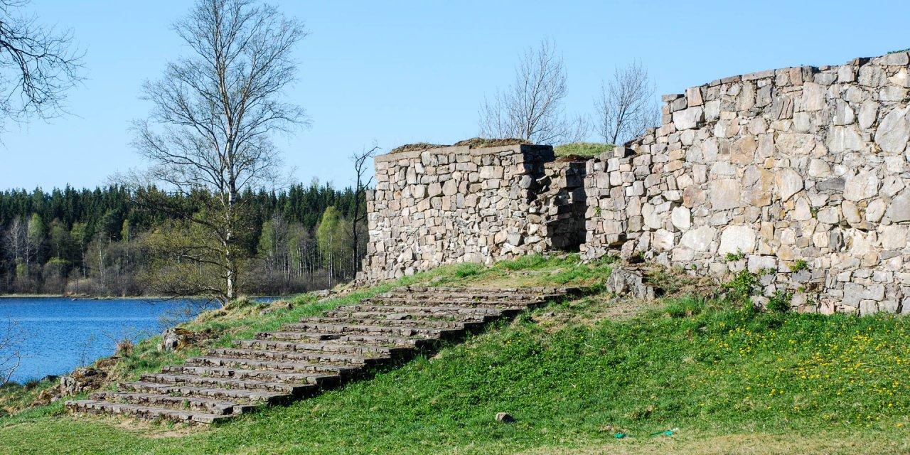 Hultaby Slottsruin 2009